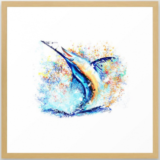 billfish, billfish decor